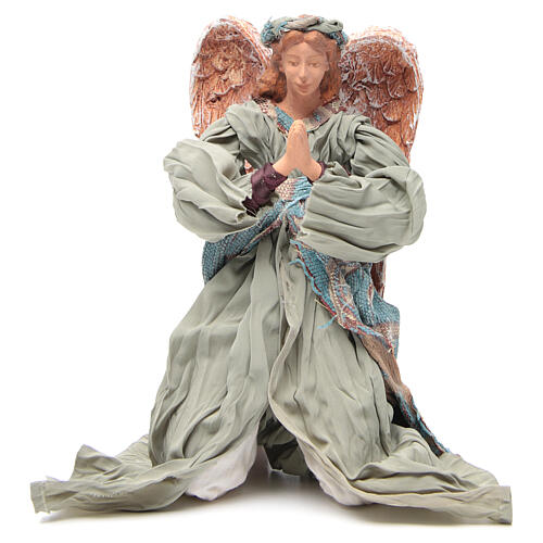 Anjo shabby chic em oração 30 cm 1