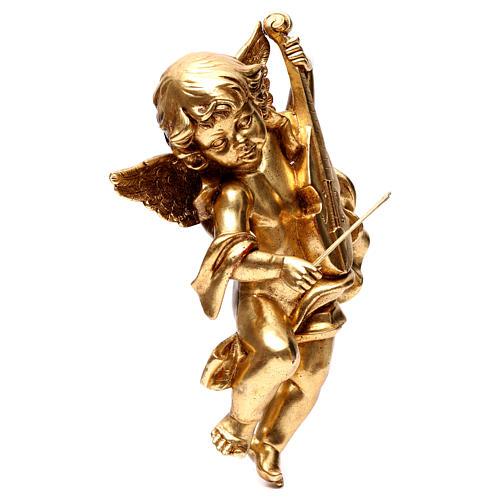 Ange Or feuille avec violon 40 cm 3