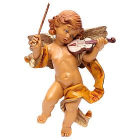 STOCK Angelo con violino Fontanini cm 27 tipo porcellana s1