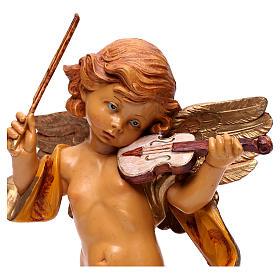 STOCK Angelo con violino Fontanini cm 27 tipo porcellana s2
