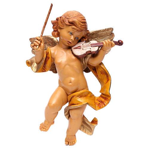 STOCK Angelo con violino Fontanini cm 27 tipo porcellana 1