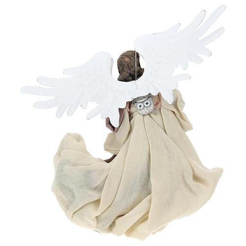 Ange en vol résine tête tournée vers la gauche 5