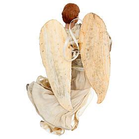 Ángel que vuela con tejido color bronce Shabby Chic de modelos diferentes s3