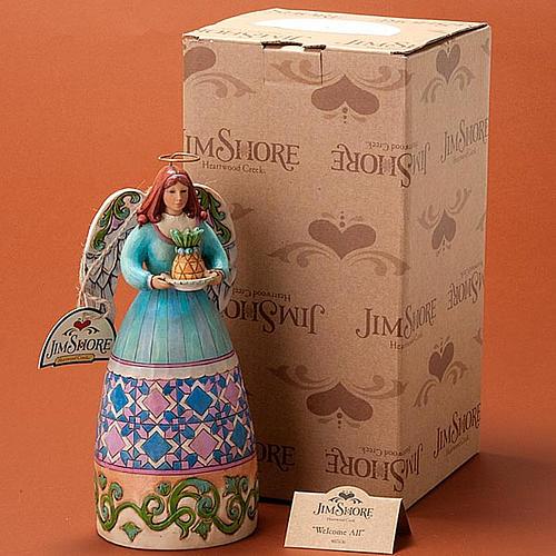 Wellcome All Angel of Hospitality figurine 2