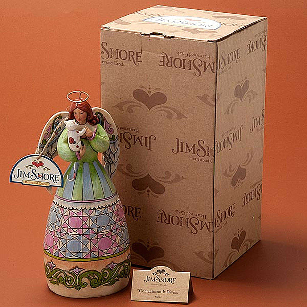 Angel of Contentment figurine 4