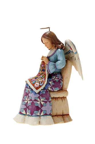 Ángel que cose (Sewing Angel) 4