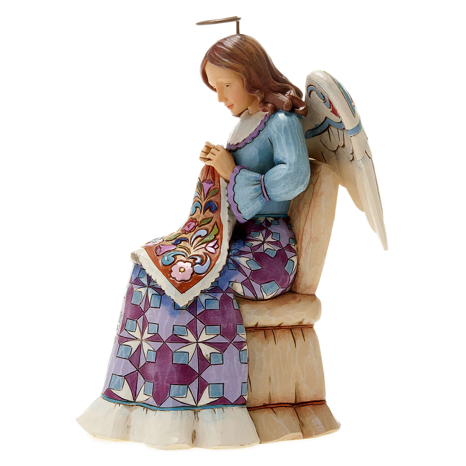 Angelo che cuce (Sewing Angel) 4