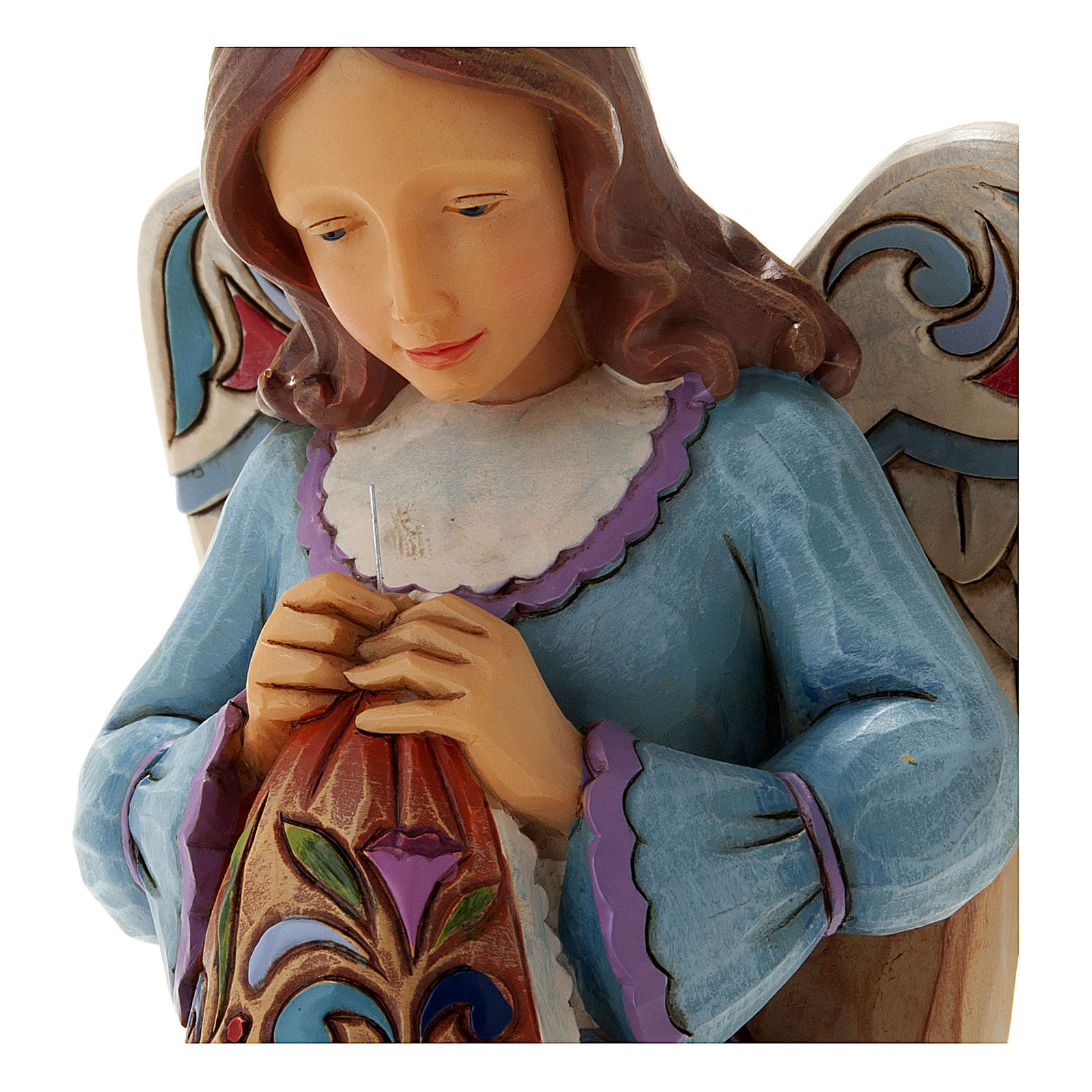 Sewing Angel figurine 4
