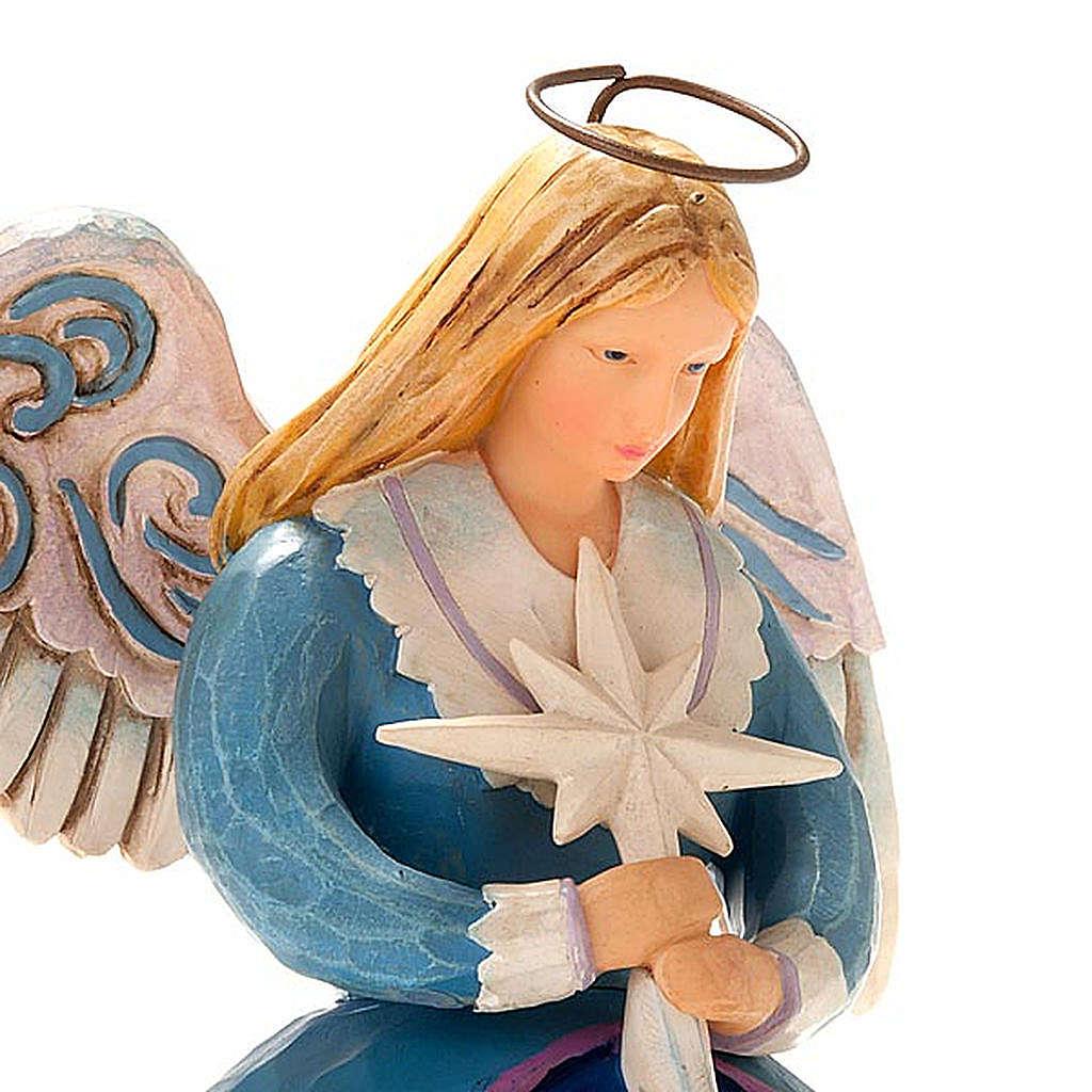 Christmas angel music box, a star shall guide us 3