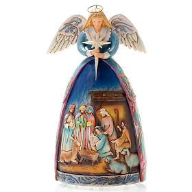 Christmas angel music box, a star shall guide us s1