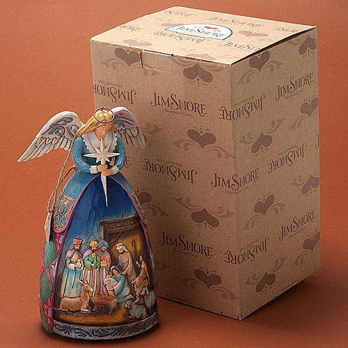 Christmas angel music box, a star shall guide us 2