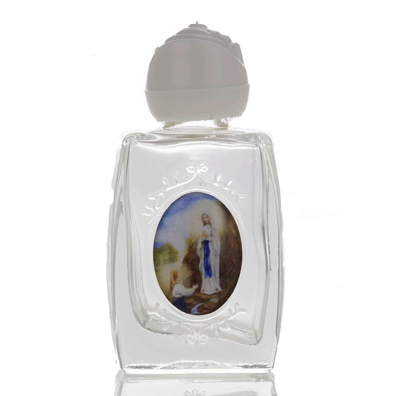 Botella Virgen de Lourdes - corazón 3
