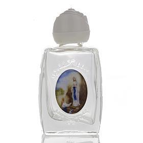 Accesorios para bendición: Botella Virgen de Lourdes - corazón