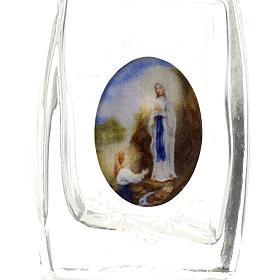 Botella Virgen de Lourdes - corazón s3