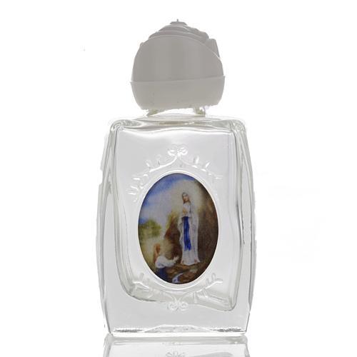 Botella Virgen de Lourdes - corazón 1