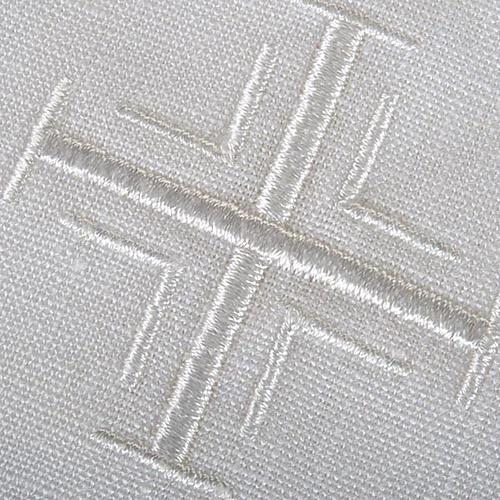 Servizio da messa puro lino 5 pezzi 2