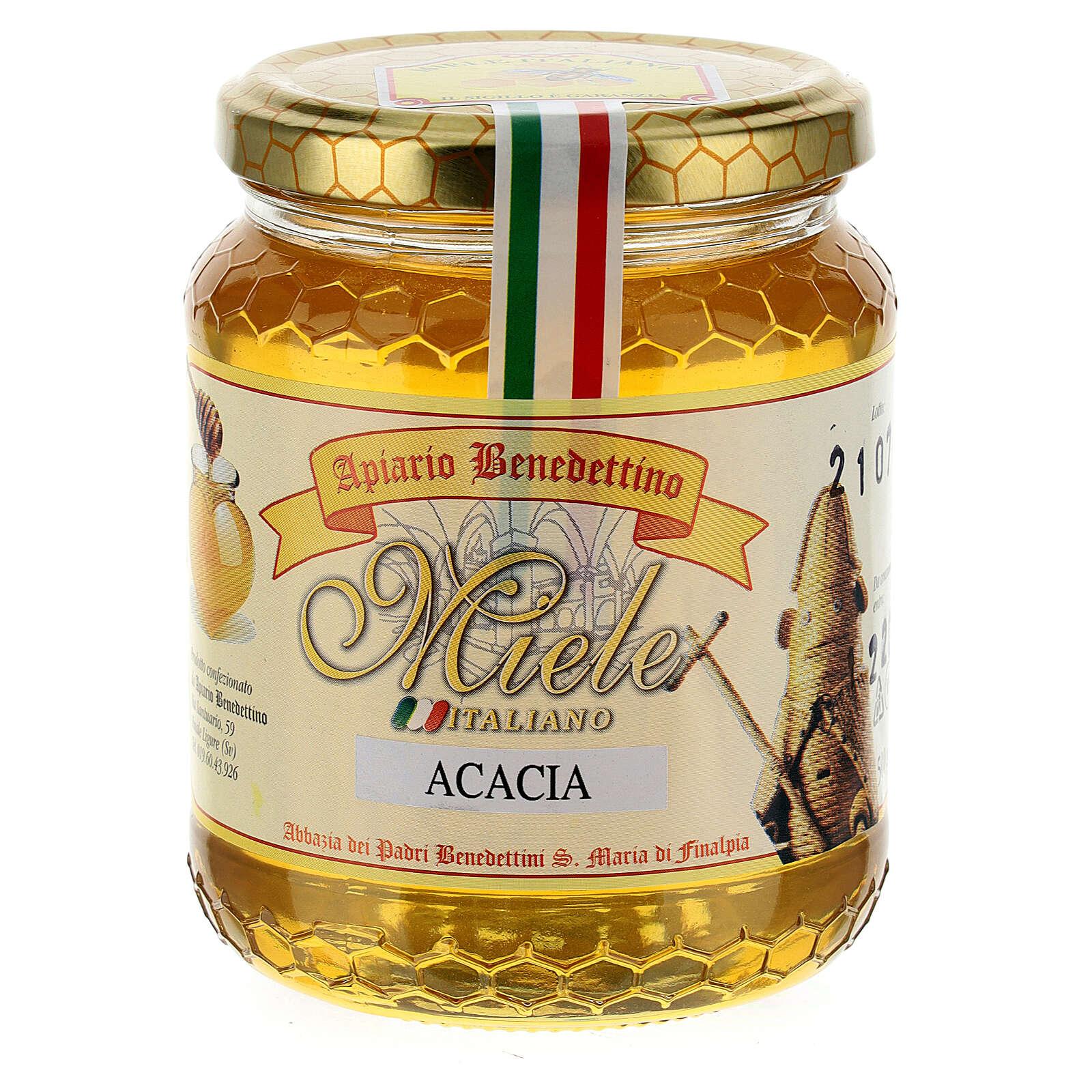 Miel de acacia 500 gr. Abadía de Finalpia 3