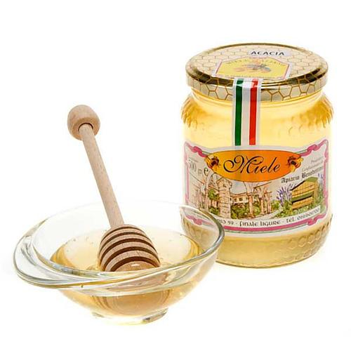 Miel d'acacia, 500 gr de l'abbaye de Finalpia 1