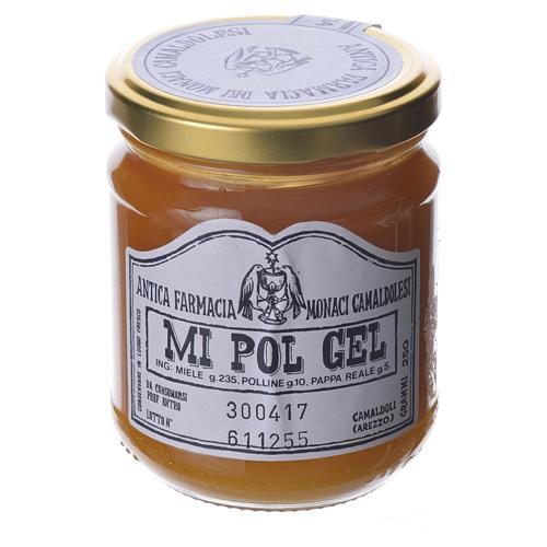 MI POL GEL , honey pollen and royal jelly preparation of Camaldoli 250 cm 1