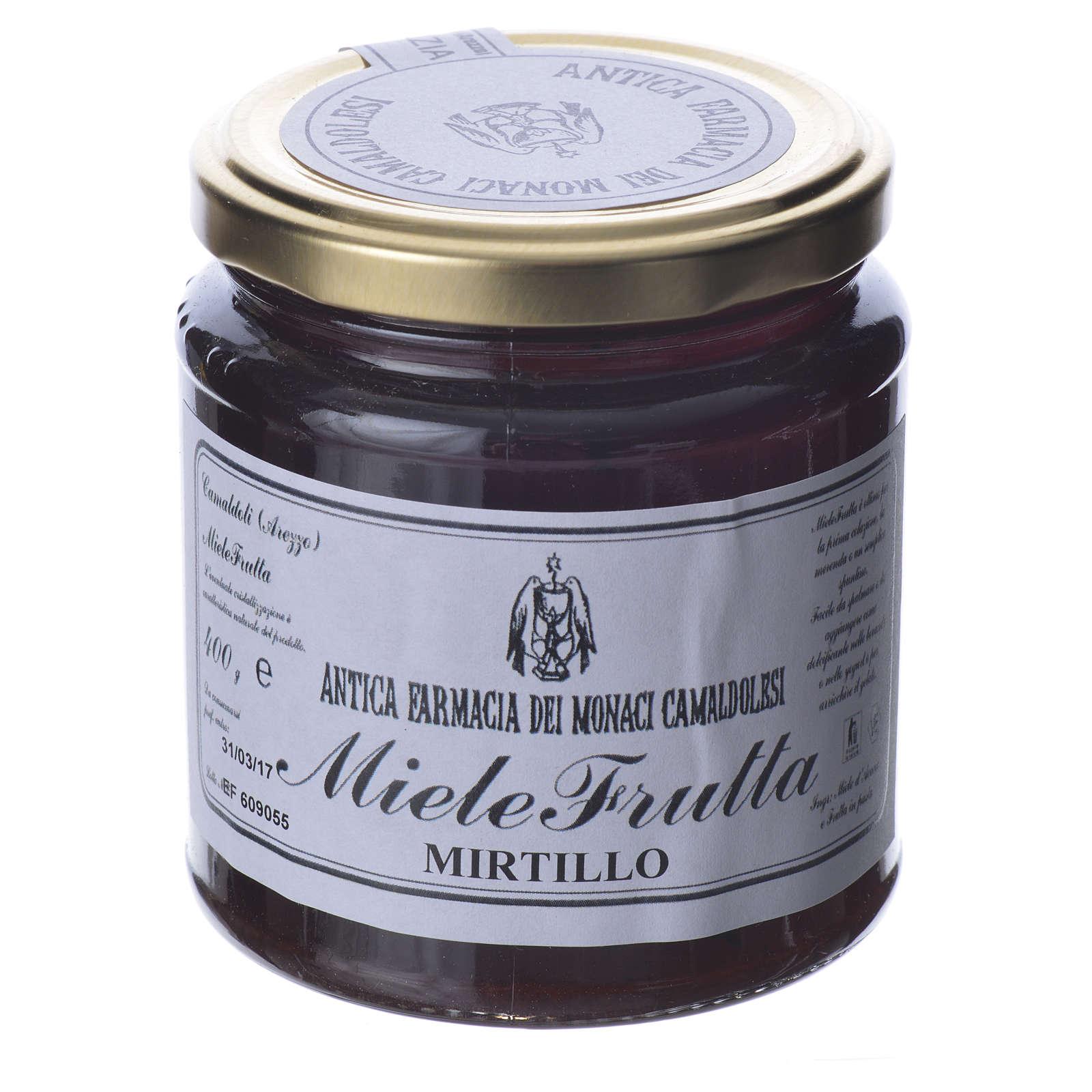 MieleFrutta Mirtillo 400 gr Camaldoli 3