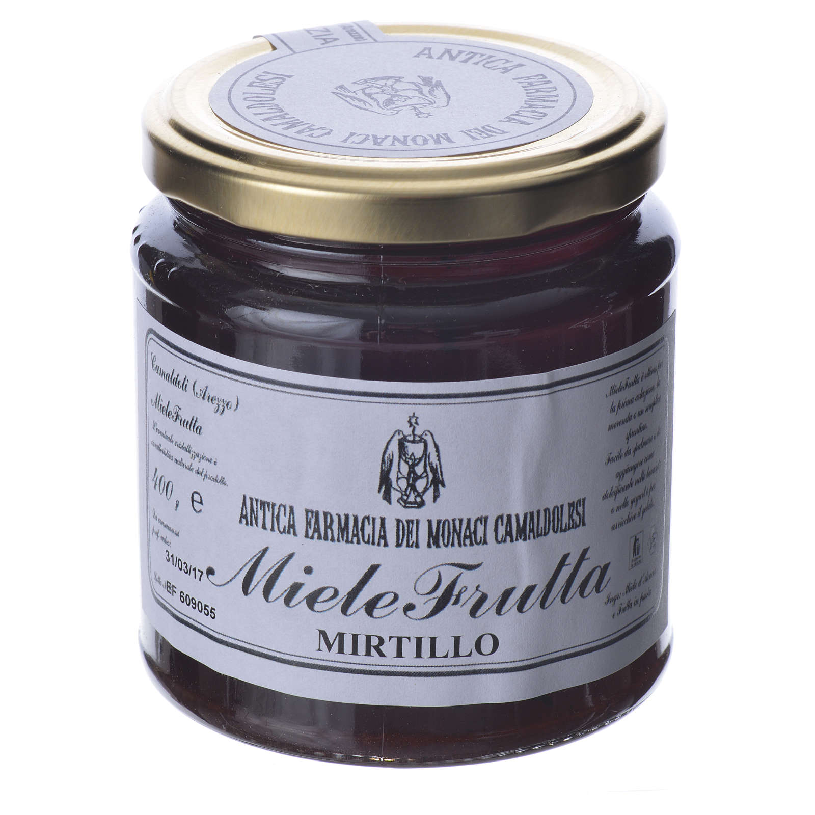 Honey with blackberry flavor 400g Camaldoli 3
