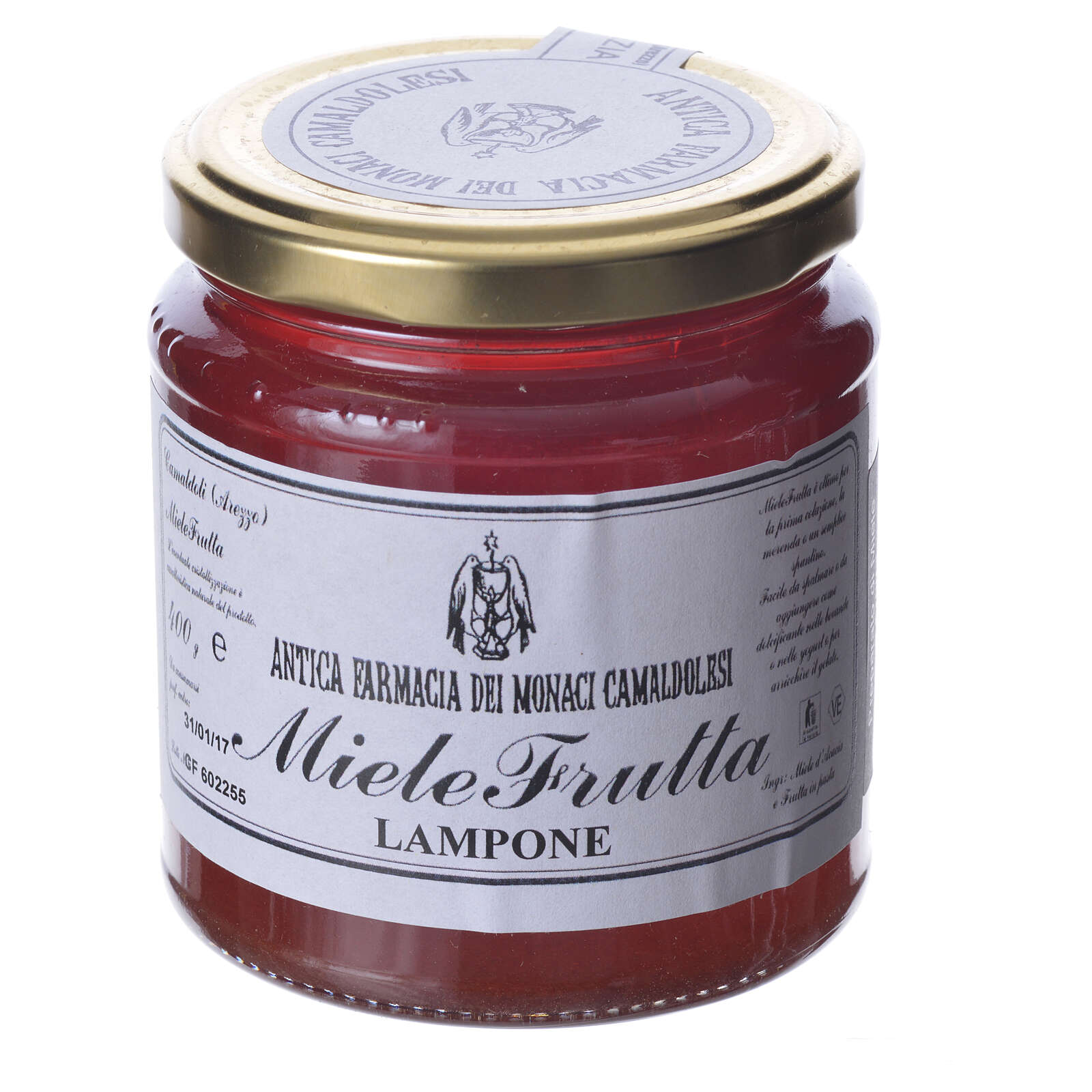 MielFruta Frambuesa 400 gr Camaldoli 3