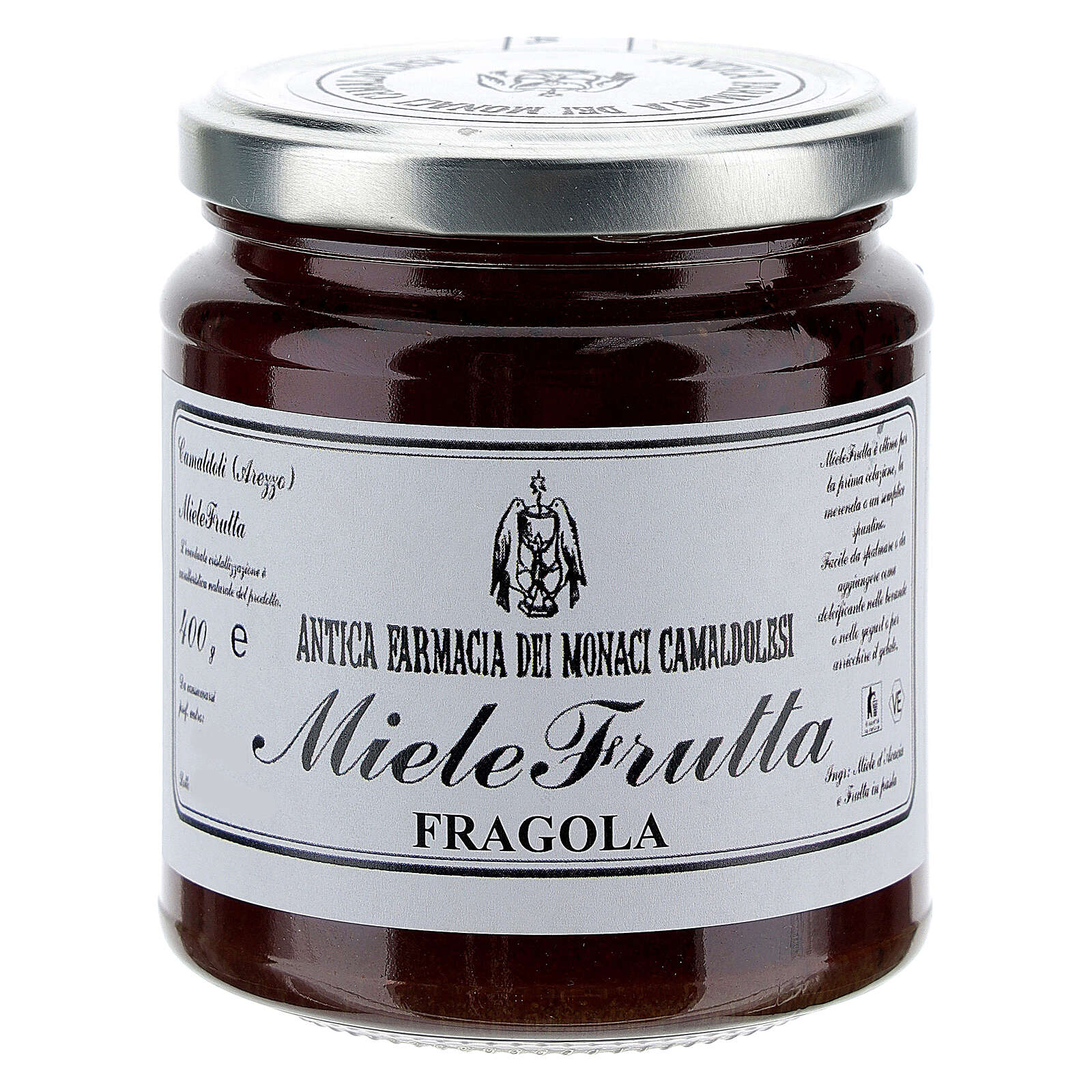 MieleFrutta Fragole 400 gr Camaldoli 3