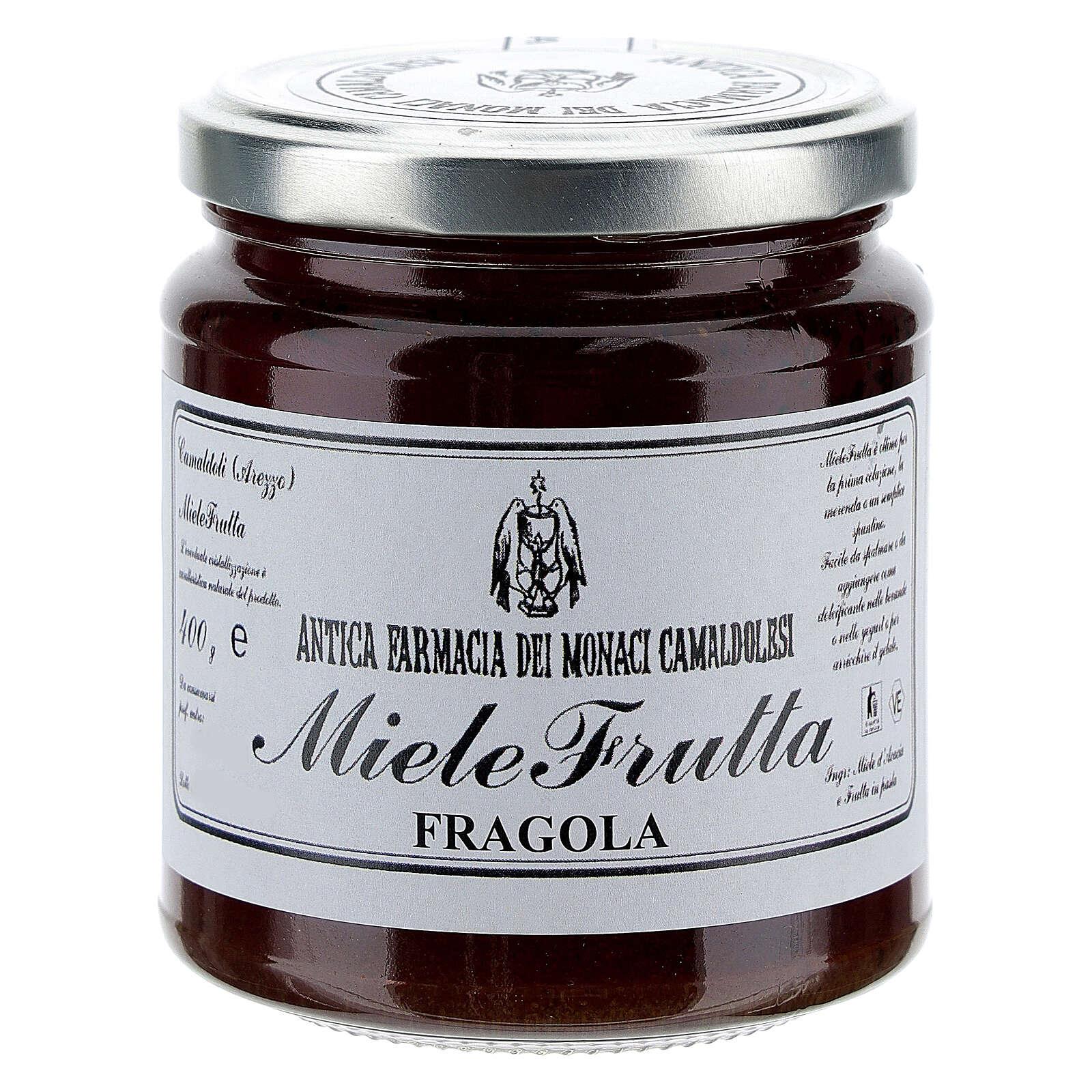 Honey with strawberry flavor 400g Camaldoli 3