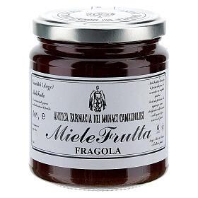 Honey with strawberry flavor 400g Camaldoli s1