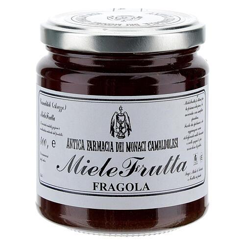 Honey with strawberry flavor 400g Camaldoli 1