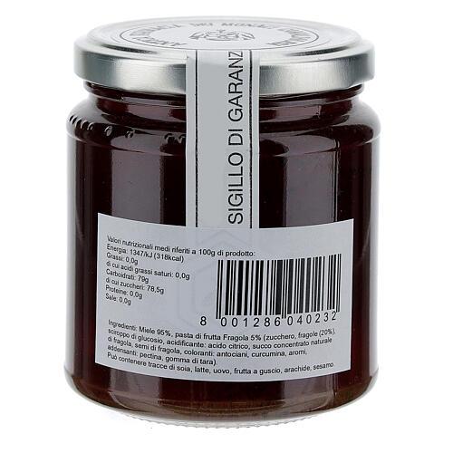 Honey with strawberry flavor 400g Camaldoli 2