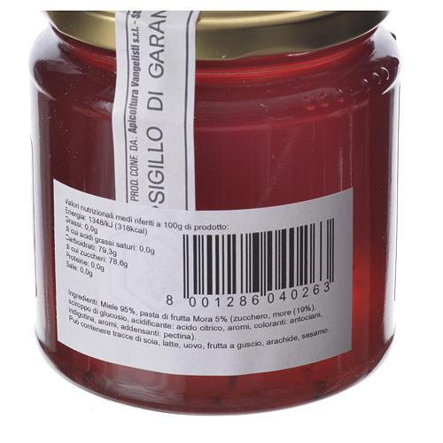 Honey with blackberry flavor 400g Camaldoli 2
