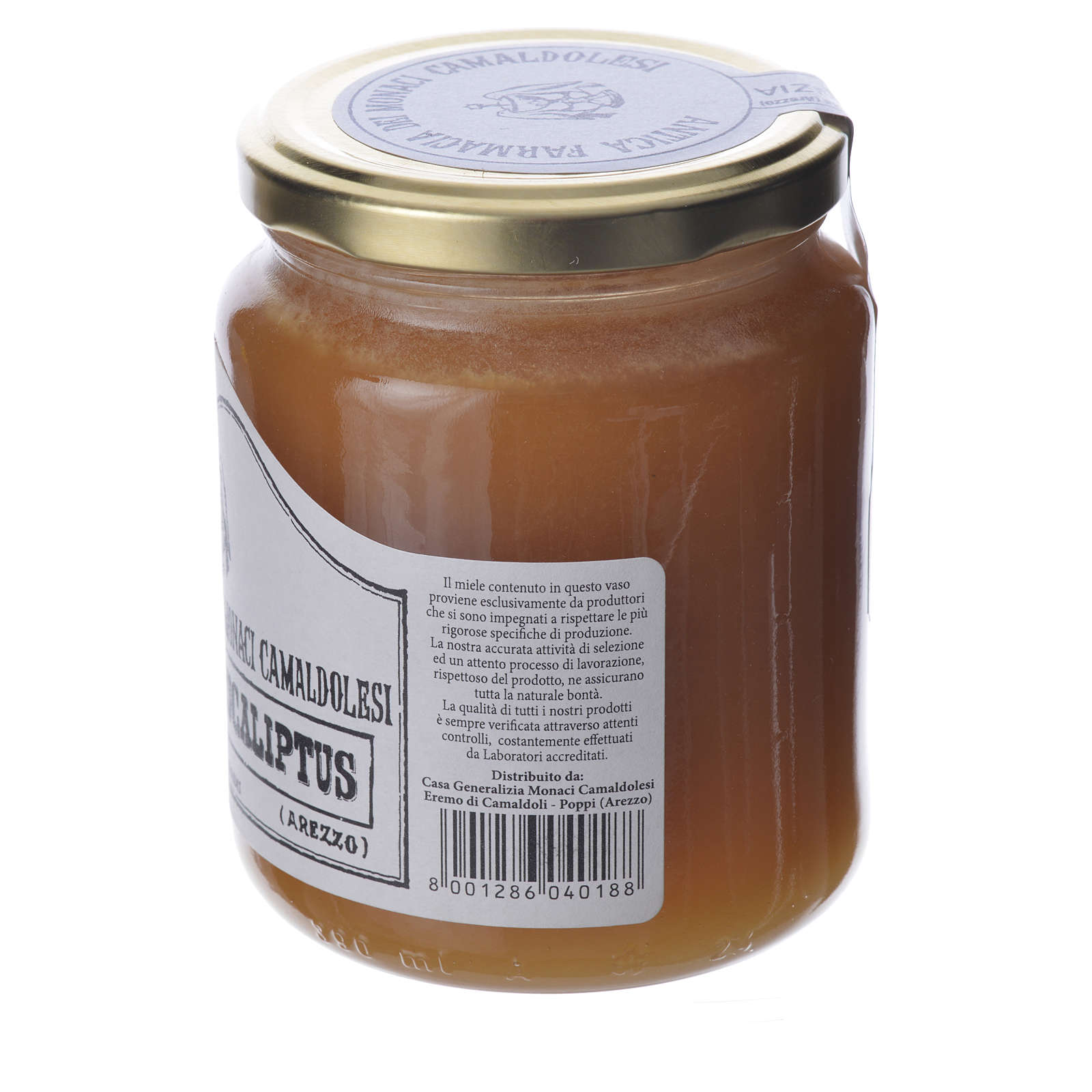 Eucalyptus honey 500gr Camaldoli 3