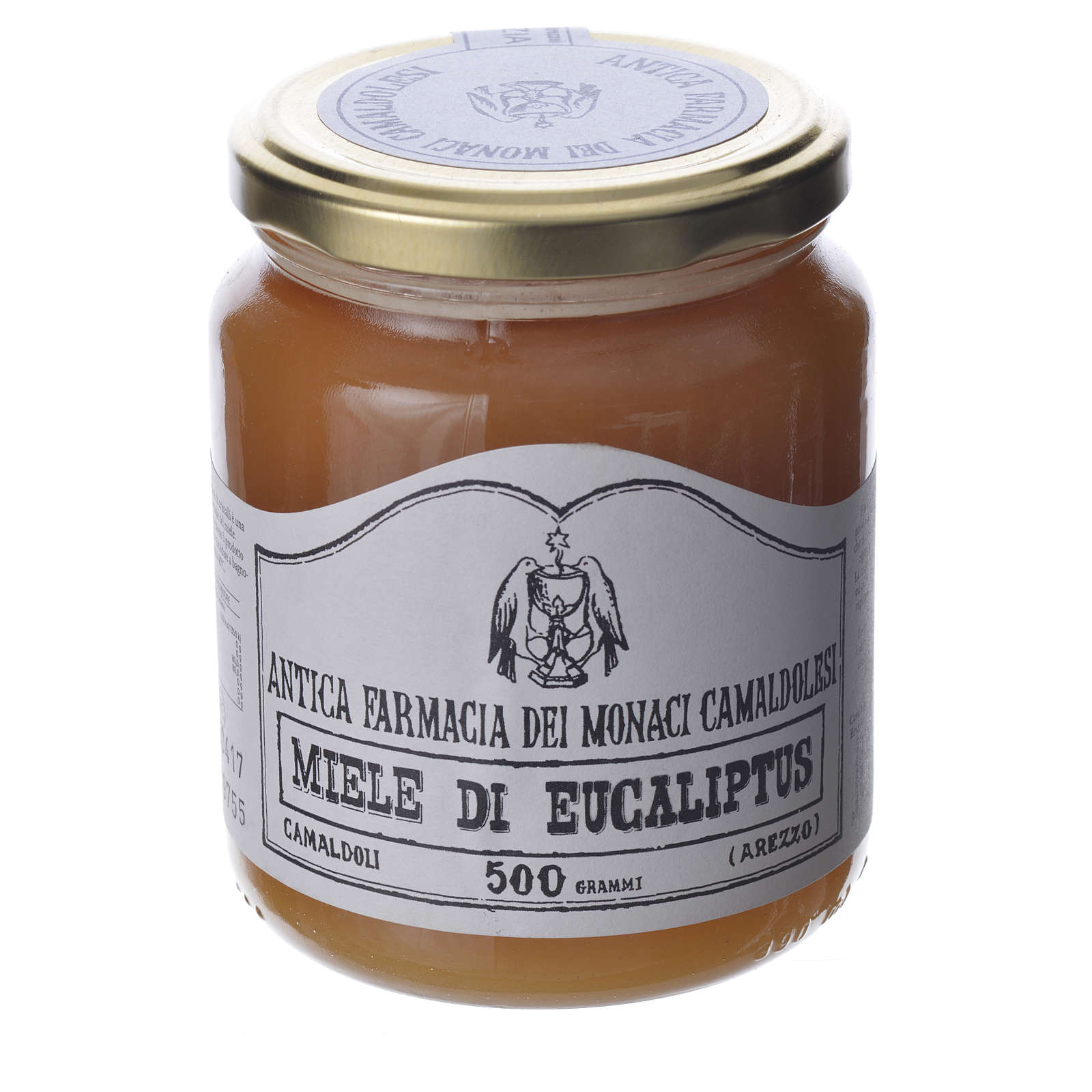 Eucalyptus honey 500gr Camaldoli 3