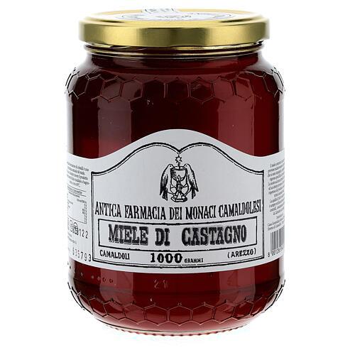 Chestnut honey 1000 gr Camaldoli 1
