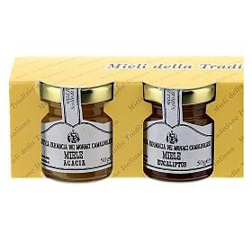 Mini pots de miel 4x50 gr Camaldoli s2