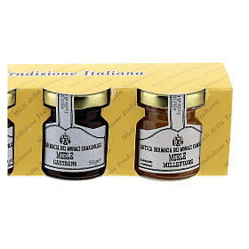 Mini pots de miel 4x50 gr Camaldoli s3