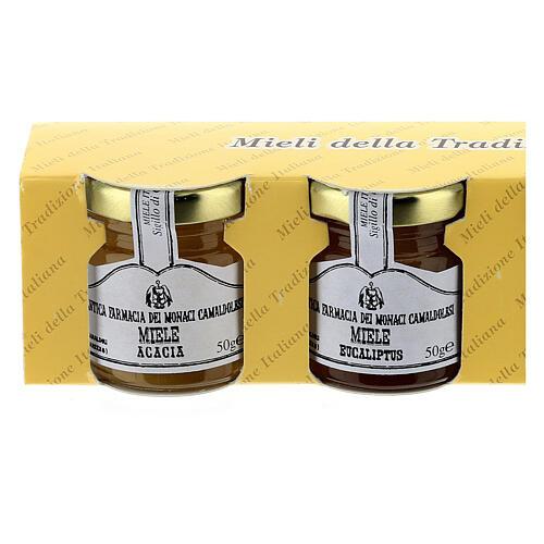 Mini pots de miel 4x50 gr Camaldoli 2