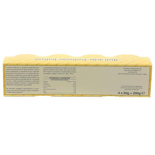 Mini pots de miel 4x50 gr Camaldoli 5