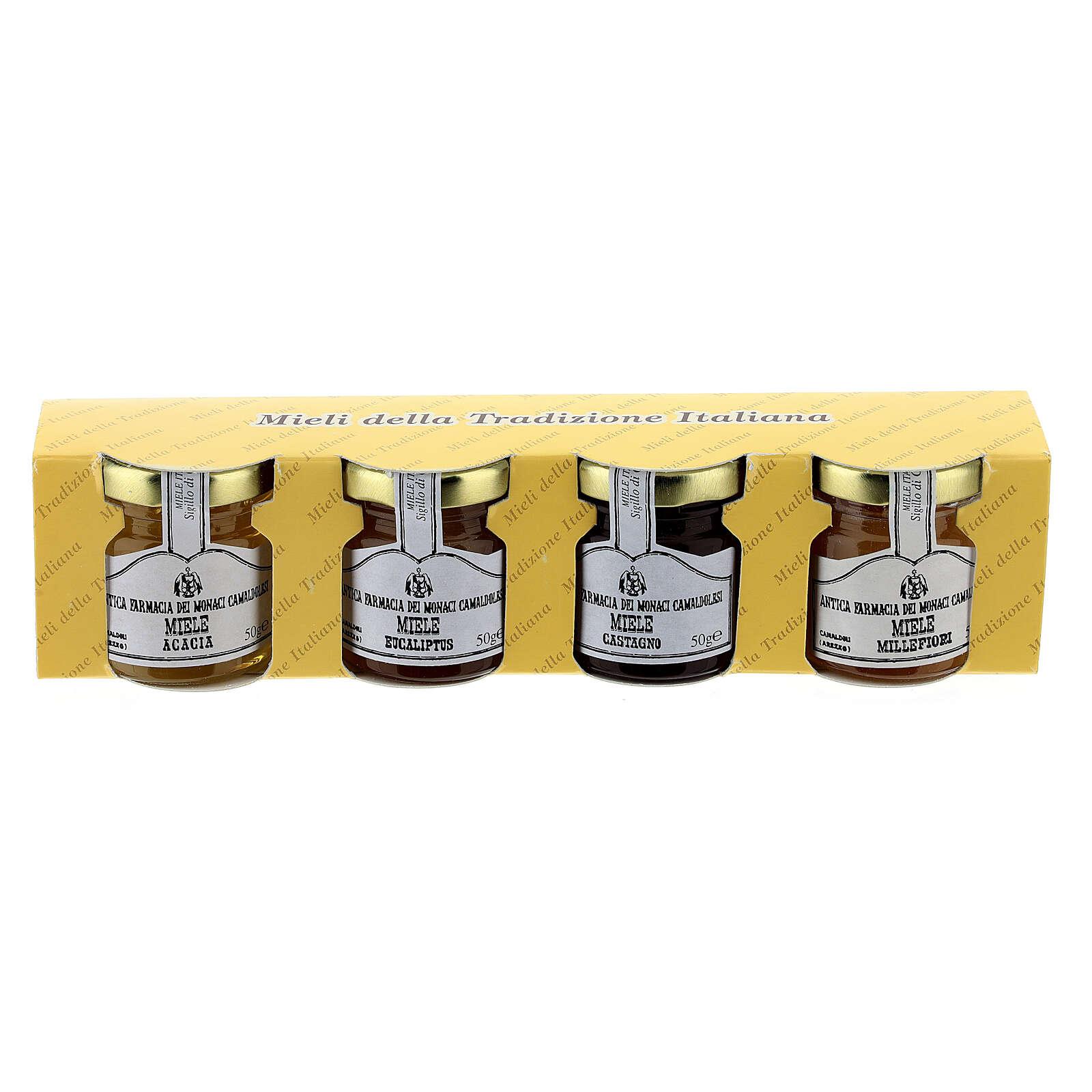 Honey blister pack 4x50 g Camaldoli 3