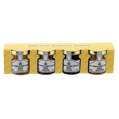 Honey blister pack 4x50 g Camaldoli 1