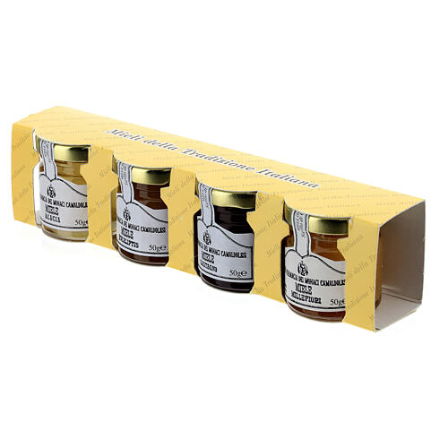 Honey blister pack 4x50 g Camaldoli 4