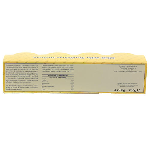 Honey blister pack 4x50 g Camaldoli 5