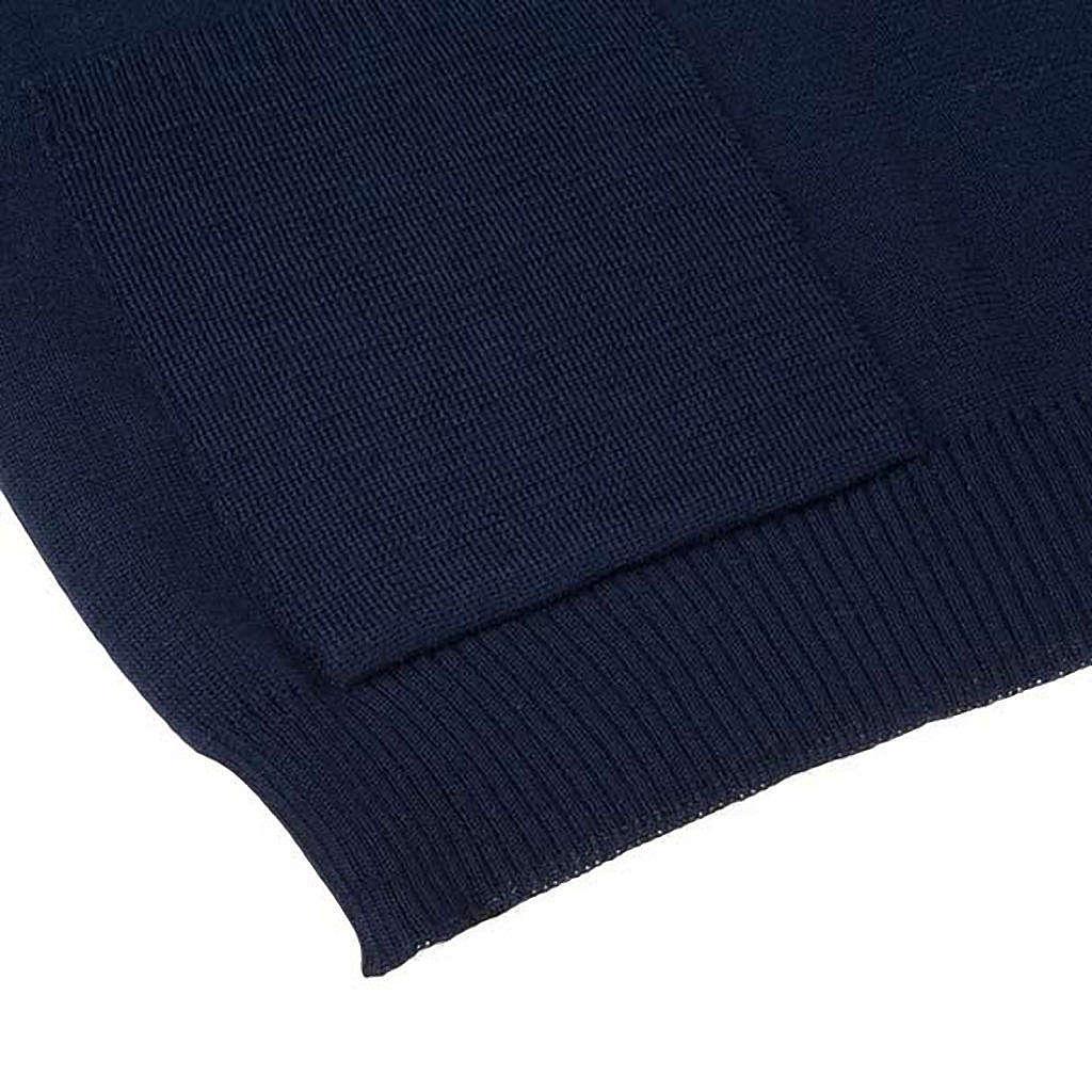 STOCK Chaleco abierto con bolsillos azul 4