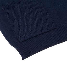 STOCK Chaleco abierto con bolsillos azul s4