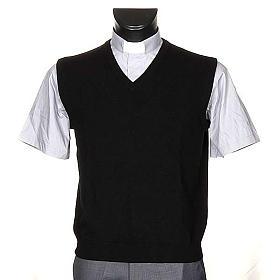 STOCK 100% cachemire V-neck waistcoat s1