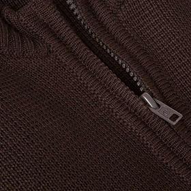 Gilet pour habit religieux, zip et poches s3