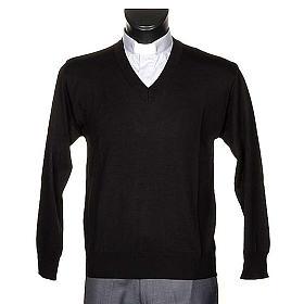 Jersey con cuello V ligero s1