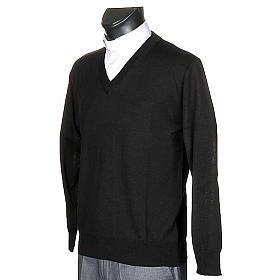 Pullover, ouverture en V s2
