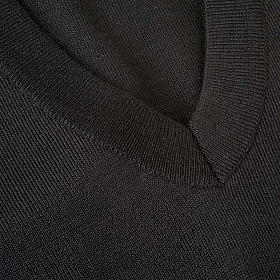 Camisola decote em V leve s3